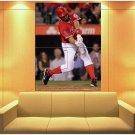 Albert Pujols Los Angeles Angels Of Anaheim Baseball Huge Giant Print Poster