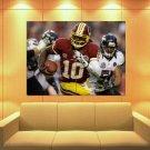 Robert Griffin Iii Washington Redskins Football Huge Giant Print Poster