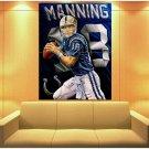 Peyton Manning Painting Art Football Sport Huge Giant Print Poster