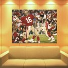 Joe Montana San Francisco 49ers Classic Football Huge Giant Print Poster