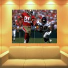 Jerry Lee Rice San Francisco 49ers Football Sport Huge Giant Print Poster