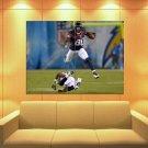 Andre Johnson Houston Texans Jump Football Sport Huge Giant Print Poster