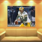 Aaron Rodgers Green Bay Packers Football Sport Huge Giant Print Poster