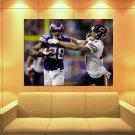Adrian Peterson Minnesota Vikings Football Sport Huge Giant Print Poster