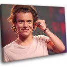 Harry Styles Portrait Tattoo Pop Singer Music 30x20 Framed Canvas Print