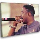 Kendrick Lamar Hip Hop Singer Music 30x20 Framed Canvas Print