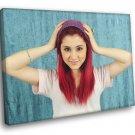 Ariana Grande Cute Singer Actress Music 30x20 Framed Canvas Print