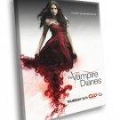 The Vampire Diaries Nina Dobrev Dress TV Series 30x20 Framed Canvas Print