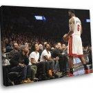 King James Jersey Lebron Rihanna Miami Heat Sport 30x20 Framed Canvas Print