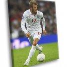 David Beckham Legend Football Soccer Sport 30x20 Framed Canvas Print