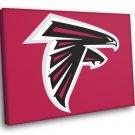 Atlanta Falcons Football Logo Hockey Sport Art 30x20 Framed Canvas Print