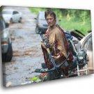 Daryl Dixon The Walking Dead Crossbow 30x20 Framed Canvas Print
