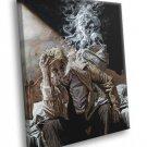 John Constantine Smoke Comic Art 30x20 Framed Canvas Print