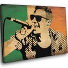 Macklemore Hip Hop Music Awesome Painting Art 30x20 Framed Canvas Print