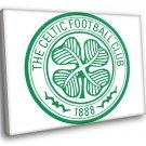 Glasgow Celtic Football Club Logo Scotland Shamrock 30x20 Framed Canvas Print