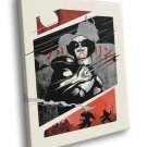 Wolverine Japanese Comic Cool Art Artwork 30x20 Framed Canvas Print