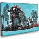 Hawken Mech Berserkers Video Game Art 30x20 Framed Canvas Print
