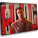 Derrick Rose Chicago Bulls Portrait Basketball 30x20 Framed Canvas Print
