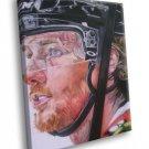 Duncan Keith Chicago Blackhawks Painting Art Hockey 30x20 Framed Canvas Print