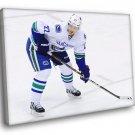 Daniel Sedin Vancouver Canucks Hockey Sport 30x20 Framed Canvas Print