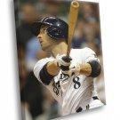 Ryan Braun Milwaukee Brewers Baseball Sport 30x20 Framed Canvas Print