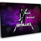 Metallica Great Kirk Hammett Art Heavy Metal 30x20 Framed Canvas Print