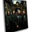 Black Sabbath English Rock Band Music 30x20 Framed Canvas Art Print