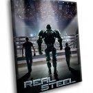 Real Steel Hugh Jackman Robots Action Movie 30x20 Framed Canvas Art Print