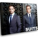 Suits Drama TV Series Patrick J Adams Mike Ross 30x20 Framed Canvas Art Print