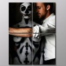 Ryan Gosling Dead Man S Bones 30x20 Framed Canvas Art Print
