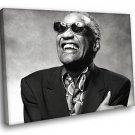 Ray Charles Blues Soul Music 30x20 Framed Canvas Art Print