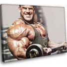 Jay Cutler Bodybuilder Fitness Muscles Mr Olympia 30x20 Framed Canvas Art Print