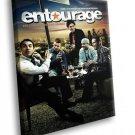 Entourage Comedy TV Series 30x20 Framed Canvas Art Print
