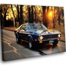 Car Vehicles Ford Mustang Side View Classic Auto 30x20 Framed Canvas Art Print