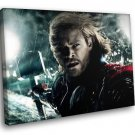 Thor Superhero Fantasy Movie Chris Hemsworth 30x20 Framed Canvas Art Print