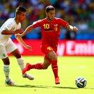 Eden Hazard Belgium World Cup Brazil Soccer Football 32x24 Wall Print POSTER