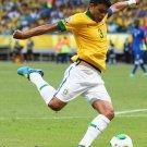 Thiago Silva Brazil Football Soccer Sport 32x24 Wall Print POSTER