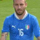 Daniele De Rossi Italy Football Soccer Sport 32x24 Wall Print POSTER