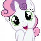 Sweetie Belle My Little Pony Friendship Is Magic Cute 32x24 Wall Print POSTER