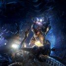 Aliens Vs Predator AVP Versus Marine Fight Game Art 32x24 Wall Print POSTER