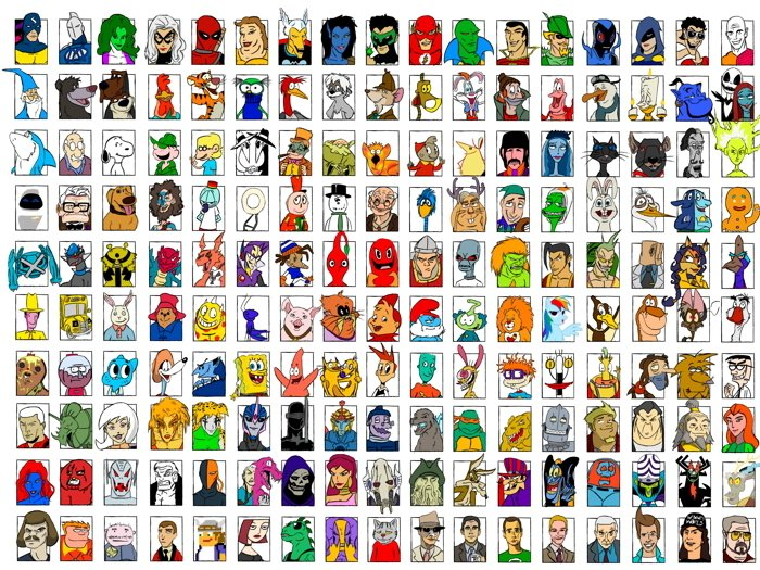 Movie Video Game Comics Characters Amazing Art Part 2 32x24 Wall Print POSTER