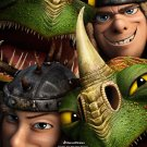 How To Train Your Dragon 2 Movie 32x24 Wall Print POSTER