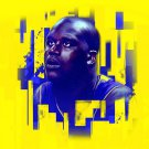 Shaquille O Neal Los Angeles Lakers Painting Art Sport 32x24 Wall Print POSTER