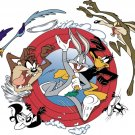Looney Tunes Logo Characters Daffy Duck Coyote Devil 32x24 Wall Print POSTER