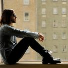 Jared Leto Window Rock Singer Actor Music 32x24 Print Poster
