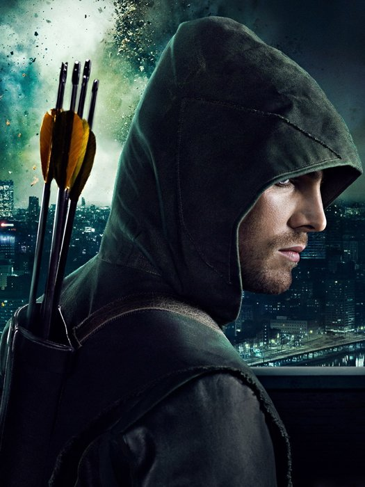 Stephen amell arrow hood
