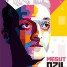 Mesut Ozil Real Madrid Germany Football Soccer 32x24 Print Poster