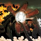 Godzilla Vs Biollante Movie Gojira Tai Biorante Art 32x24 Print Poster