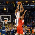 Kevin Durant Game Winner Jump Shot Basketball 32x24 Print Poster
