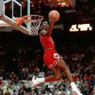 Michael Jordan Slam Dunk Contest Chicago Bulls Retro 32x24 Print Poster
